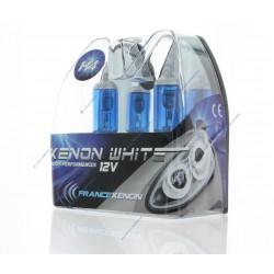 2 x Ampoules H4 100/90W 12V SUPER WHITE - FRANCE-XENON
