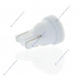 2x Birnen T10 W5W 1SMD WEISS PURE