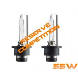2 x D2S xenon Bulbs - 6000K 55W for the competition