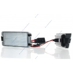 License plate LED SET for SEAT ALTEA, IBIZA, CORDOBA, LEON, TOLEDO III