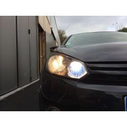 Pack Xenon-Scheinwerferlampen Effekt für Audi 80
