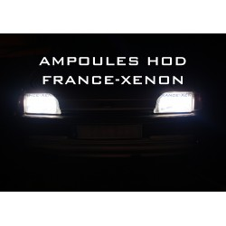 2 x 55w bulbs h7 12v super white - France-xenon