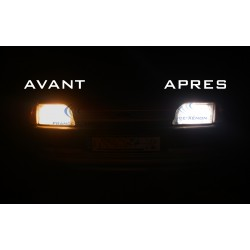 2 x 55W lampadine H7 12v bianca eccellente - Francia-xeno