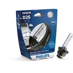 Ampoule D2S Philips 85122WHV2S1 xénon whitevision Gen2, sous blister
