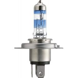 Pack 2 philips light bulbs h4 racingvision 150% h4 12342rvs2