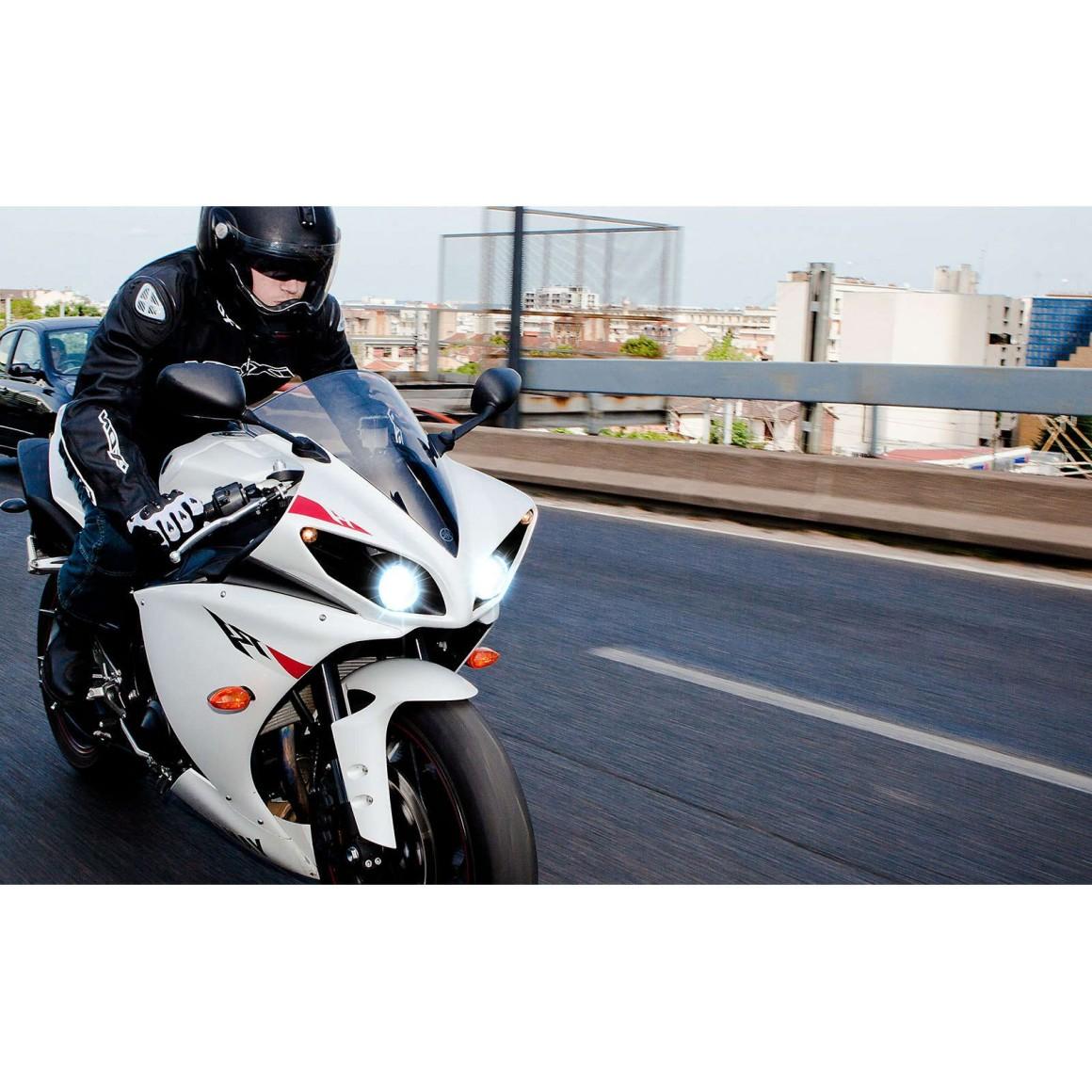 ampoule h7 de phare de moto blue vision moto philips 12972bvubw france xenon. Black Bedroom Furniture Sets. Home Design Ideas