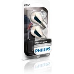 2 Birnen Philips PY21W Silver Vision