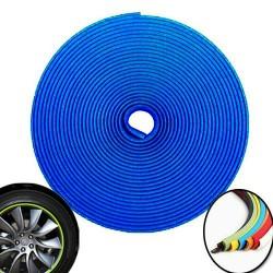 8M Tire Glue Sticker Car Wheel Hub Tire - Blue