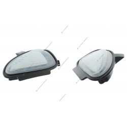 Pack 2 éclairages LED coming home rétroviseur Golf 6