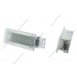 Pack 2 lighting modules for LED doors BMW F01 F02 F03 F04 F07 F10 F11 F20 F30 - WHITE 6000K