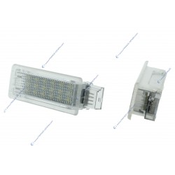 Pack 2 Türen LED-Beleuchtungsmodule BMW F01 F02 F03 F04 F07 F10 F11 F20 F30 - WHITE 6000K
