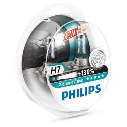 Pack 2 ampoules H7 Philips X-tremVision +130%