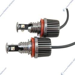 SP2 angel eyes bulbs h8 30w rgb - 2 year warranty