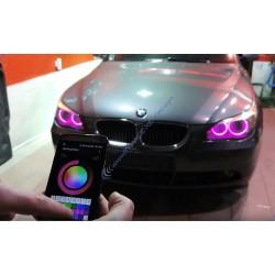 Confezione da 2 lampadine occhi di angelo E90 20W RGB PH1 - 2 anni di garanzia