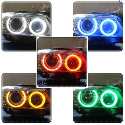 Pack 2 ampoules angel eyes E90 ph1 RGB 20W - Garantie 2 ans