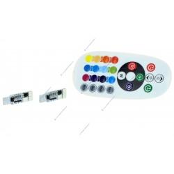 Pack 2 Birnen 6 LED RGB - W5W per Fernbedienung gesteuert
