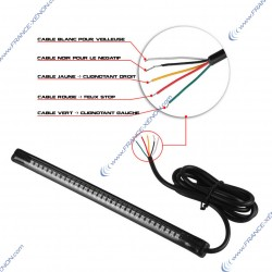 Strip 32 LED night light / stop and flashing