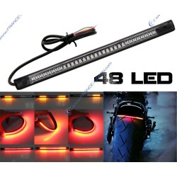 Bande 48 LED Veilleuse / Stop & Clignotant