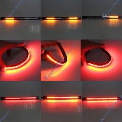 Streifen 48 LED-Nachtlicht / Stopp und blinkt
