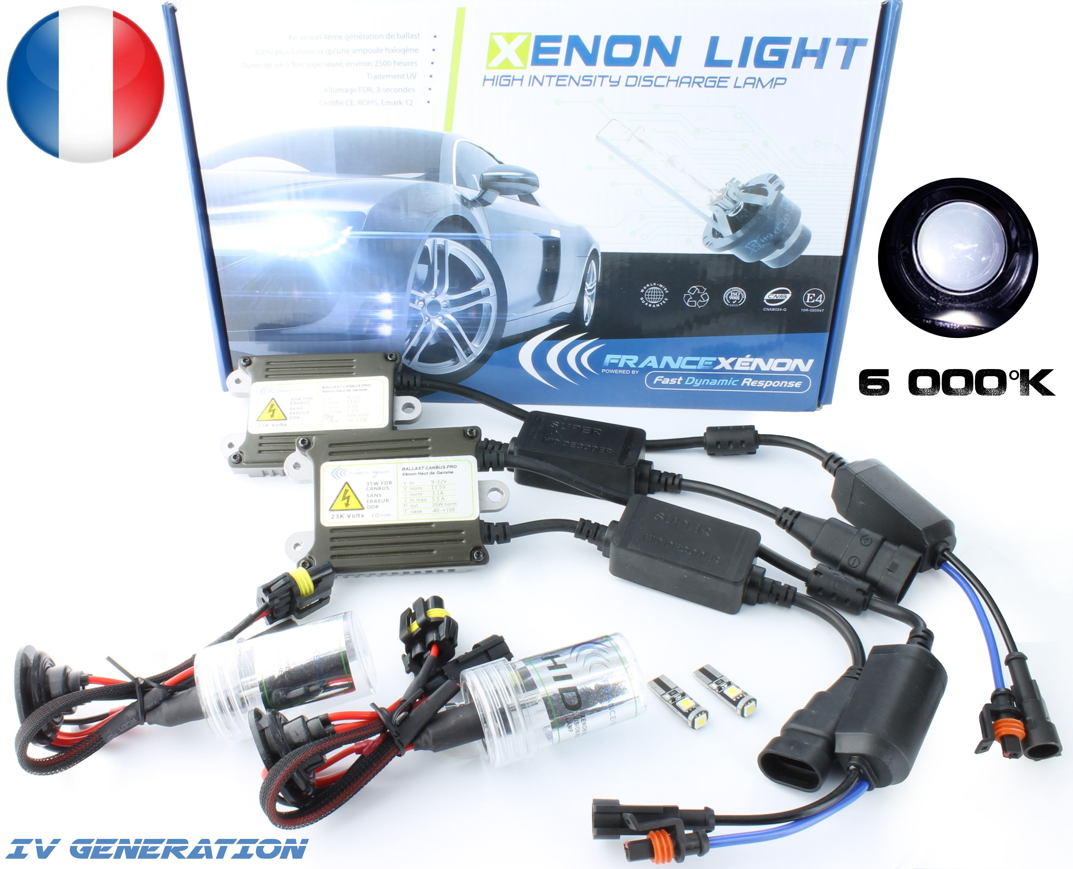 H4 6000k Xenon Canbus Hid Kit To Fit Seat Ibiza Models Auto Motorrad Teile Lampen Led Valtek Cl