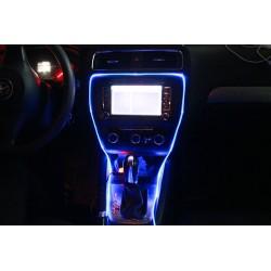 Pack Faser Atmosphäre LED RGB mit Fernbedienung gesteuert - 5m