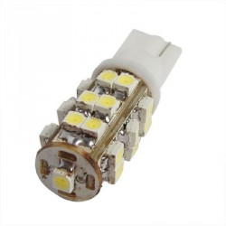 2 x Ampoules 25 LEDS BLANCHES - LED SMD - T10 W5W