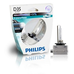 Ampoule D3S Philips xénon x-tremevision +50% 42403XVS1