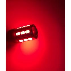 Led Bulb 21 sg - W21 / 5W - rosso - pilota
