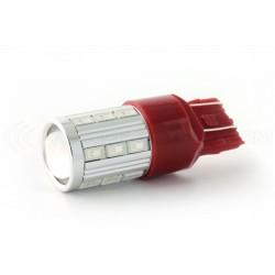 Led Bulb 21 sg - w21 / 5w - red - pilot