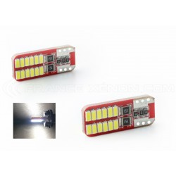 2 x 24 LED-Lampen (3014) CAN-Bus - t10 W5W