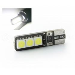 2 x BOMBILLAS 5 LEDS WHITE - LED SMD - 5 led - T10 W5W