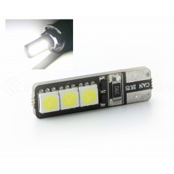 AMPOULE 6 LEDS SMD CANBUS - T10 W5W