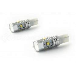 2 x Ampoules 5 LEDS CREE - LED CREE - T10 W5W