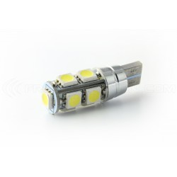 2 x AMPOULES 9 LEDS SMD CANBUS - T10 W5W