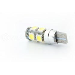 2 x lampade 9 LED SMD CANBUS - W5W T10