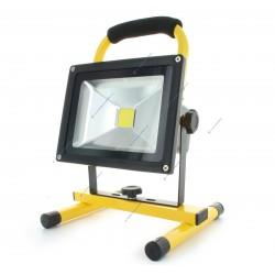 50W LED Floodlight Portable Construction Battery