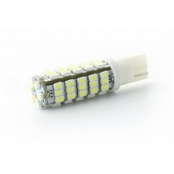 2 x Ampoules 66 LEDS BLANCHES - W5W W16W