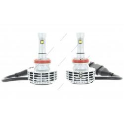 2 x Ampoules HB4 9006 HP 6G 55W - 3000Lm - 6500K - 12 / 24 Vdc
