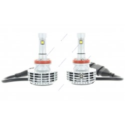 2 x h16 bulbs hp 6g 55w - 3000lm - 6500k - 12/24 vdc