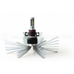 2 x Ampoules H16 5202 XL6S 55W - 4600Lm - Courtes - 12V/24V