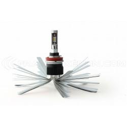 2 x Ampoules H11 XL6S 55W - 4600Lm - Courtes - 12V/24V
