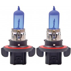 2 x Ampoules H13 60/55W 12V SUPER WHITE - FRANCE-XENON