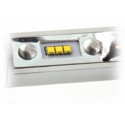 2 x Ampoules H8 XL6S 55W - 4600Lm - Courtes - 12V/24V
