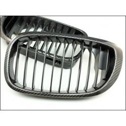 2x grids calender BMW e60 e61 5 series 03-10 carbon