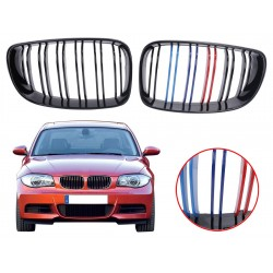 2x Grilles de calandre BMW E87 1er 07-11 M tech design