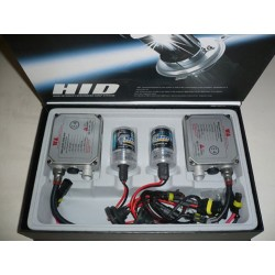 HID Kit  - Single H4 - Slim Ballast - 8000 K