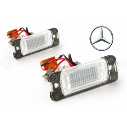 LED Targa Mercedes ML W164, GL, Classe R W251