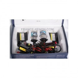 H4 single xenon - 8000 ° K - slim ballast - Car