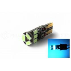 BULB 9 LED SMD BLUE - W5W - Strobo
