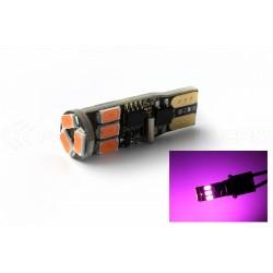 Ampoule 9 LED SMD ROSE - W5W - Strobo